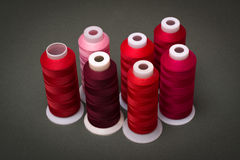 Spools of thread Royalty Free Stock Images