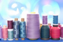 Spools of thread, reel of strings Royalty Free Stock Photo