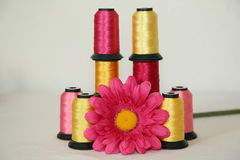 Spools of thread Royalty Free Stock Photos