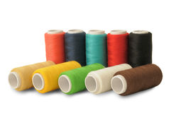 Spools of threads Royalty Free Stock Photos