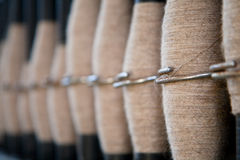 Spools of wool Royalty Free Stock Photo