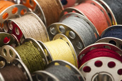 Spools of yarn Stock Photos
