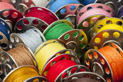 Spools of yarn Royalty Free Stock Image