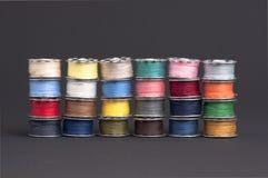 Spools of yarn Royalty Free Stock Photo