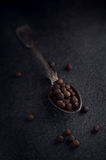 Spoon with allspice Royalty Free Stock Image
