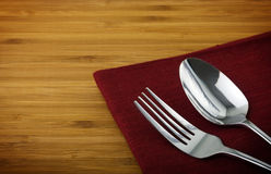 Free Spoon And Fork Royalty Free Stock Photos - 22043588