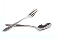 Free Spoon And Fork Royalty Free Stock Photography - 31171087
