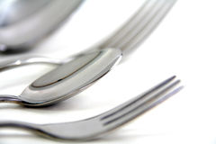 Spoon close-up Royalty Free Stock Image