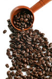 Spoon of coffee Stock Photos