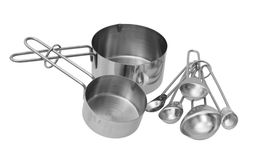 Spoon and cup Royalty Free Stock Photos