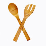 Spoon and fork. A typical symbol of restaurants and bars Royalty Free Stock Photography