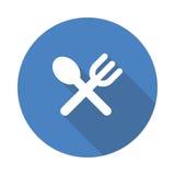 Spoon Fork icon Royalty Free Stock Photo