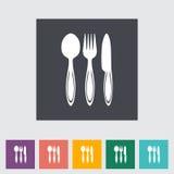 Spoon, fork, knife Royalty Free Stock Photos
