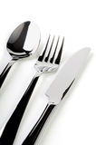 Spoon, fork, knife Royalty Free Stock Image