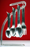 Spoon and fork set Royalty Free Stock Photos