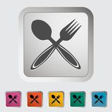 Spoon, fork. Stock Photography