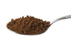 Spoon full of Coffee Stock Photo