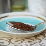 Spoon Full Of Instant Coffee Royalty Free Stock Image