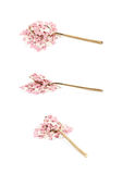 Spoon full of sprinkles isolated Royalty Free Stock Photos
