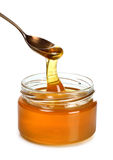 Spoon Of honey Royalty Free Stock Photo
