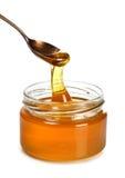 Spoon Of honey Royalty Free Stock Photo