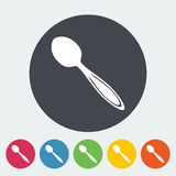 Spoon icon Royalty Free Stock Photography