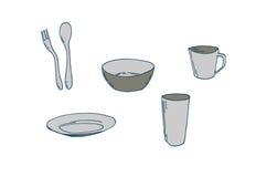 Spoon illustration Stock Photos