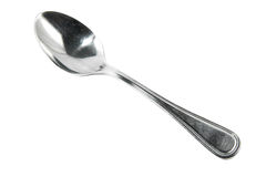 Spoon isolated on white background Stock Image
