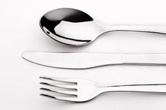 Spoon knife fork Stock Photography