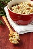 Spoon with kutia – traditional Christmas sweet meal Stock Image