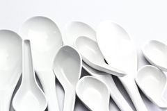Spoon and ladle Royalty Free Stock Image