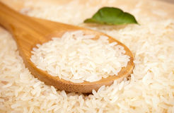 Spoon with rice Stock Photography