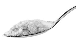 Spoon salt Stock Images