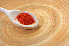 Spoon of spices Royalty Free Stock Image