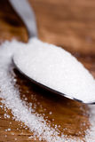 Spoon with sugar Royalty Free Stock Photos