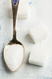 Spoon of sugar Stock Photo