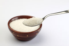 A SPOON OF SUGAR Stock Photo