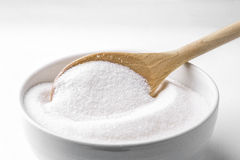 Spoon with sugar Royalty Free Stock Photography