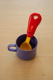 The spoon toy Stock Images