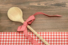 Spoon wooden Royalty Free Stock Photography