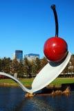 Spoonbridge de Claes Oldenburg, Minneapolis Imagen de archivo libre de regalías