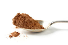 Spoonful of Cocoa Stock Photos