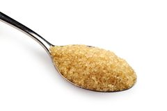 Spoonful cukier Obrazy Stock