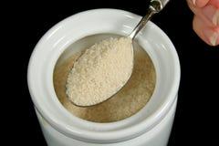 Spoonful do açúcar imagem de stock