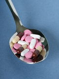 Spoonful of Drugs Royalty Free Stock Image