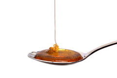 Spoonful Honey Royalty Free Stock Photography