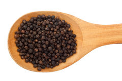 Spoonful of peppercorn Royalty Free Stock Image