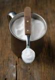 Spoonful of sodium bicarbonate Stock Image