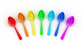 The spoons Stock Photography