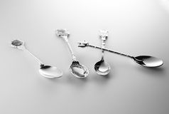 Spoons Stock Photo